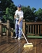 Best water fed brush to clean deck
